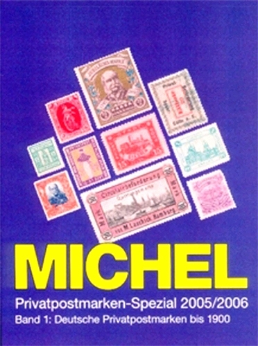 Briefmarkenkatalog Michel Deutsche Privatpostmarken Band 1 Solar