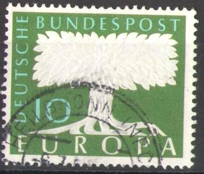 268 Europa 10 Pf Deutsche Bundespost Solar Pool Ice Peter Hakim