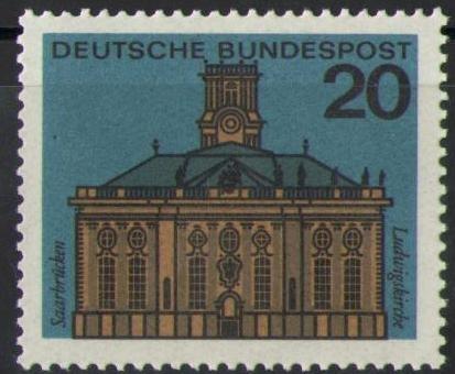 427 Hauptstaedte Brd 20 Pf Deutsche Bundespost Briefmarke Solar