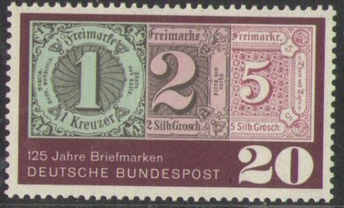 125 Jahre Briefmarken 482 Deutsche Bundespost Solar Pool Ice