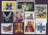 Briefmarken USA kleines Lot 15 United States stamps