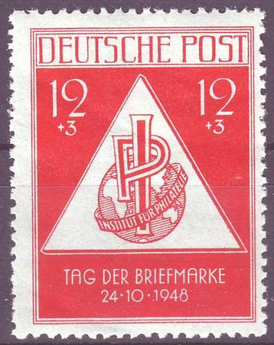 228 Deutsche Post Sowjetische Besatzungs Zone Tag Der Briefmarke