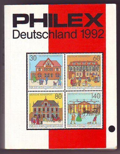 Gebrauchter Briefmarkenkatalog Philex Deutschland 1992 Solar Pool